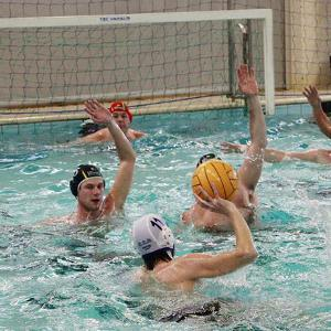 Waterpolo in actie